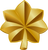 US Army Major golden oak leaf insignia